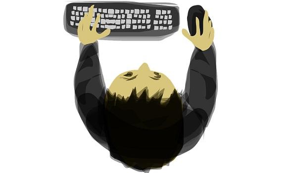 дуэт мышки и клавиатуры