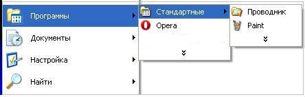 Стандартные программы в Windows XP