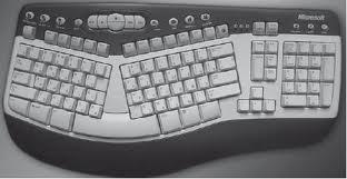 эргономичная клавиатура для компьютера