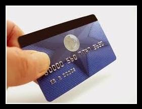 Пластиковая банковская карточка