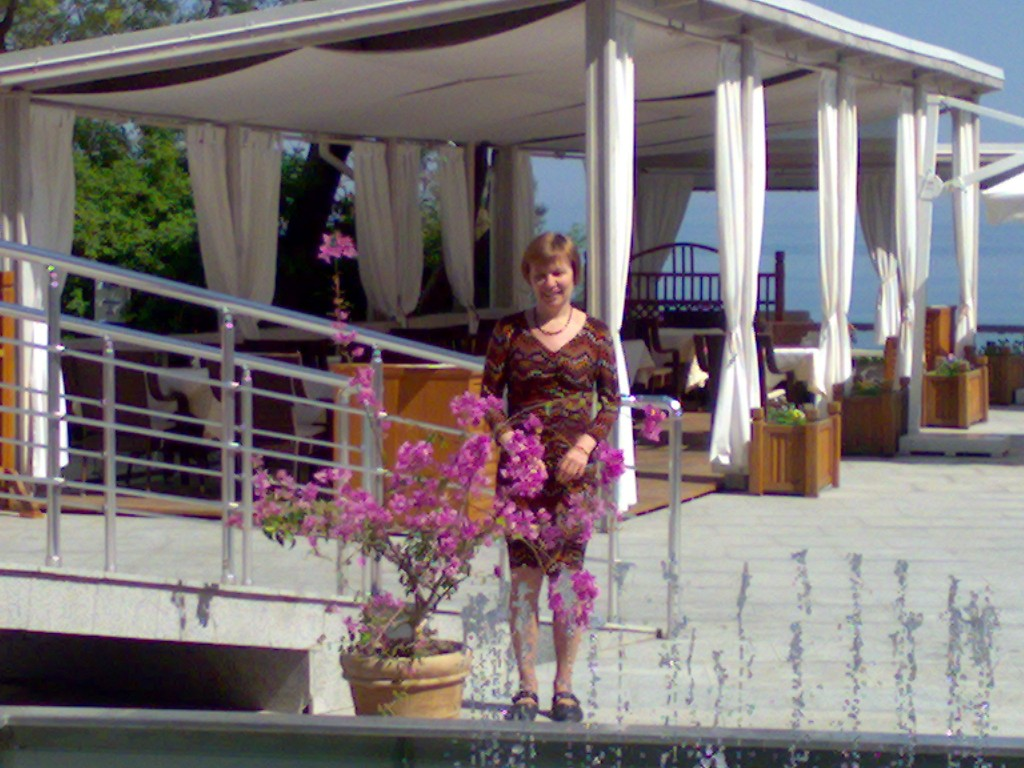 Фото с музыкальным фонтаном