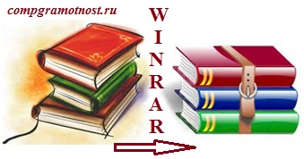 Программа архивации данных winrar