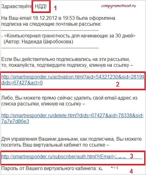 Smartresponder.ru_Подтверждение подписки