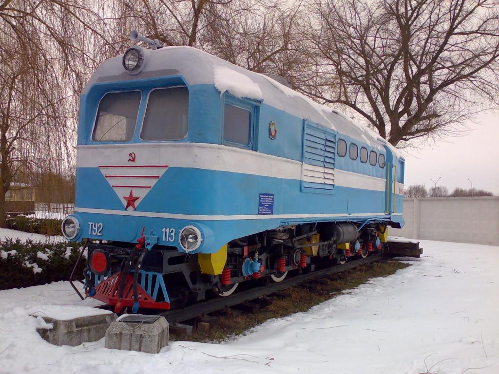 Детский поезд в Брестском железнодорожном музее