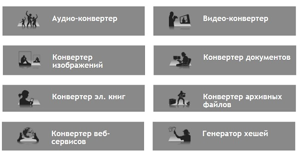 Онлайн-конвертер файлов