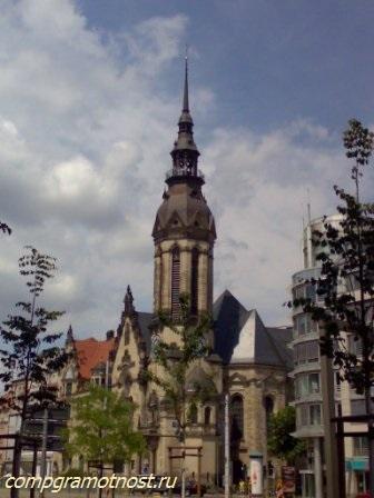 церковь Святого Николая Лейпциг