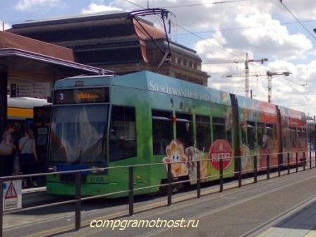 трамвай Лейпциг