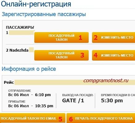 Аэрофлот подтвердил регистрацию пассажиров