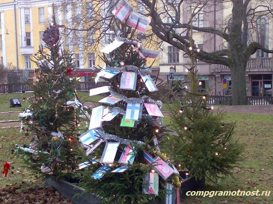 елки в Хельсинки 2015