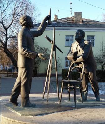 Циолковский с Королевым Калуга