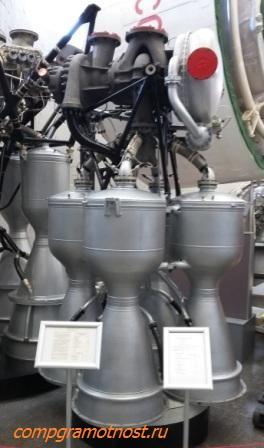 ракетные двигатели музей космонавтики