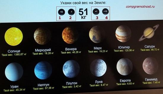тест в музее космонавтики Калуга