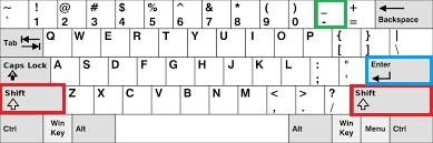 горизонтальная линия в Word c помощью клавиатуры