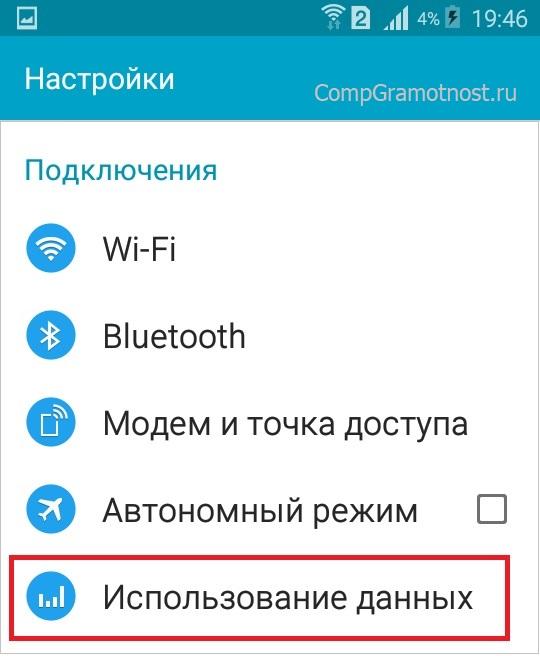 Использование данных в Андроиде