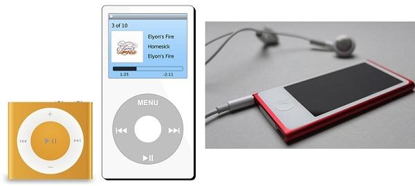 поколения iPod Mp3 Player Mp4