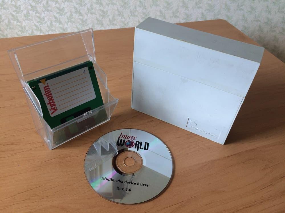 коробки для дискет 5,25 дюймов, 3,5 дюйма и CD диск