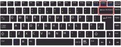 Клавиши Delete и Backspace на клавиатуре