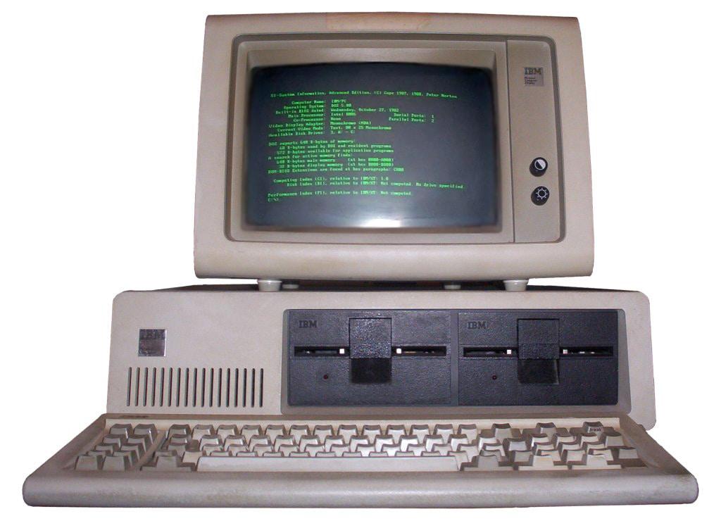 Персональный компьютер IBM PC 5150